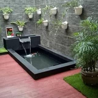 promo!!! kolam minimalis ikan koi-kolam relif-kolam ikan