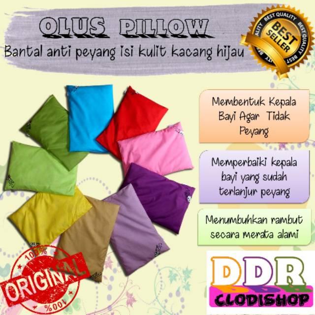 Olus Pillow/bantal kesehatan bayi/bantal anti peyang/bantal kulit kacang | Shopee Indonesia