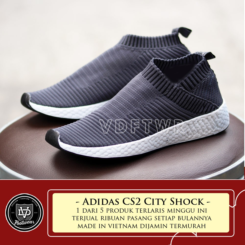 Sepatu Adidas NMD CS2 Primeknit Flyknit 4.0 Black White   Full Black   Navy    Grey  Maroon   White  3e979e739a