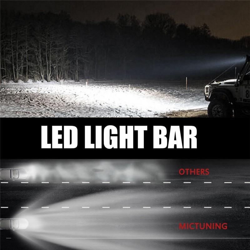 """... Light Bar Offroad LED Cree 20 Watt Source 22 . Source · 2Pcs Lampu Sorot LED 4 """"Warna Merah untuk Mobil Offroad / Truk / Perahu Offroad"""