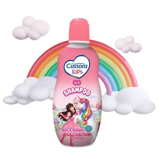 ORIGINAL Cussons Kids Shampoo 200ml & 100ml BPOM / Cussons Shampoo Anak / LEDI MART-4