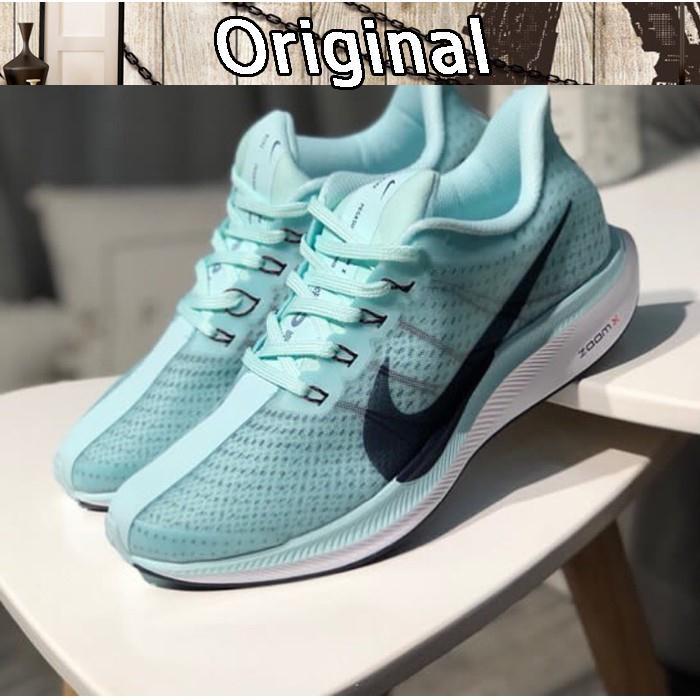 188ab9ae4d8e6 Termurah - Nike Zoom Pegasus 35 Turbo Ocean Blue Premium Original   sepatu  nike - Promo 100% asli  T