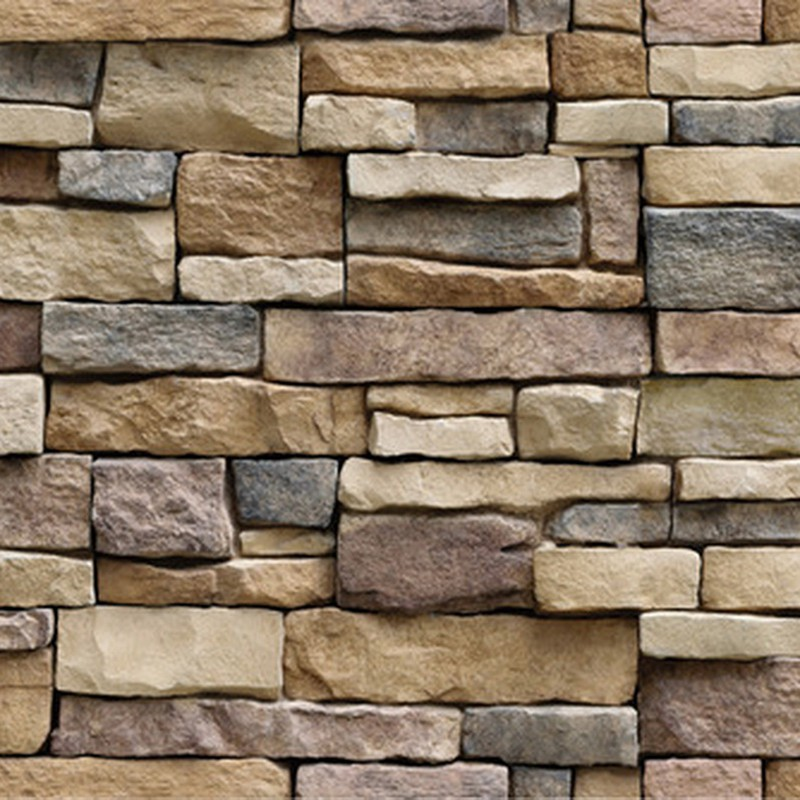 3d Wall Paper Brick Stone Effect Self Adhesive Wall Sticker