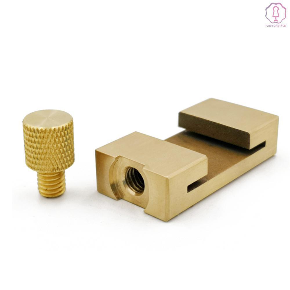 Ruler Limit Adjuster Woodworking Line Locator Positioner Steel With Brass
