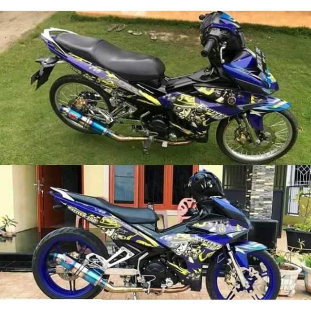 Knalpot Racing R9 New Muggelo For Mx King Vixion Jupiter Mx New Old Satria Fu Sonic Bison Verza Cbr Shopee Indonesia