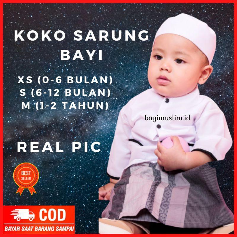Baju Koko Bayi 6 12 Bulan