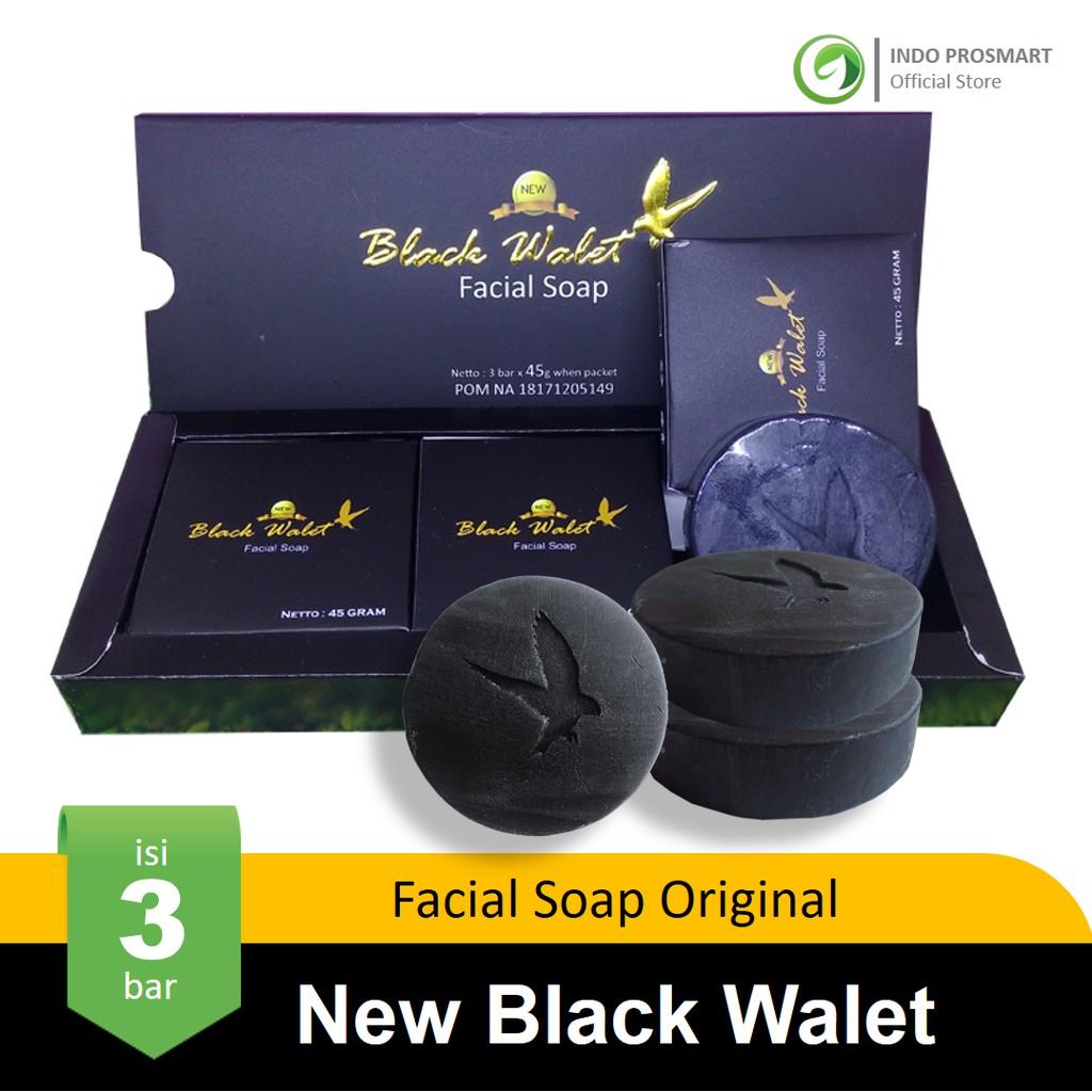 Black Walet Facial Soap - Sabun Pembersih Wajah BPOM PD TORA @90 gr - 5 pcs | Shopee Indonesia