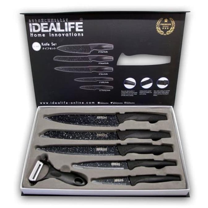 Murah di Shopee OX 606 #KNIFE SET Pisau OXONE TAJAM BAGUS MURAH QR0044 | Shopee Indonesia