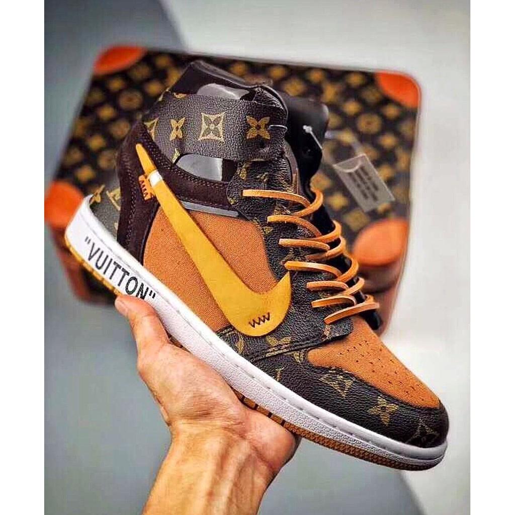beef2260be9 Nike Air Jordan 1 X Louis Vuitton X Off-white