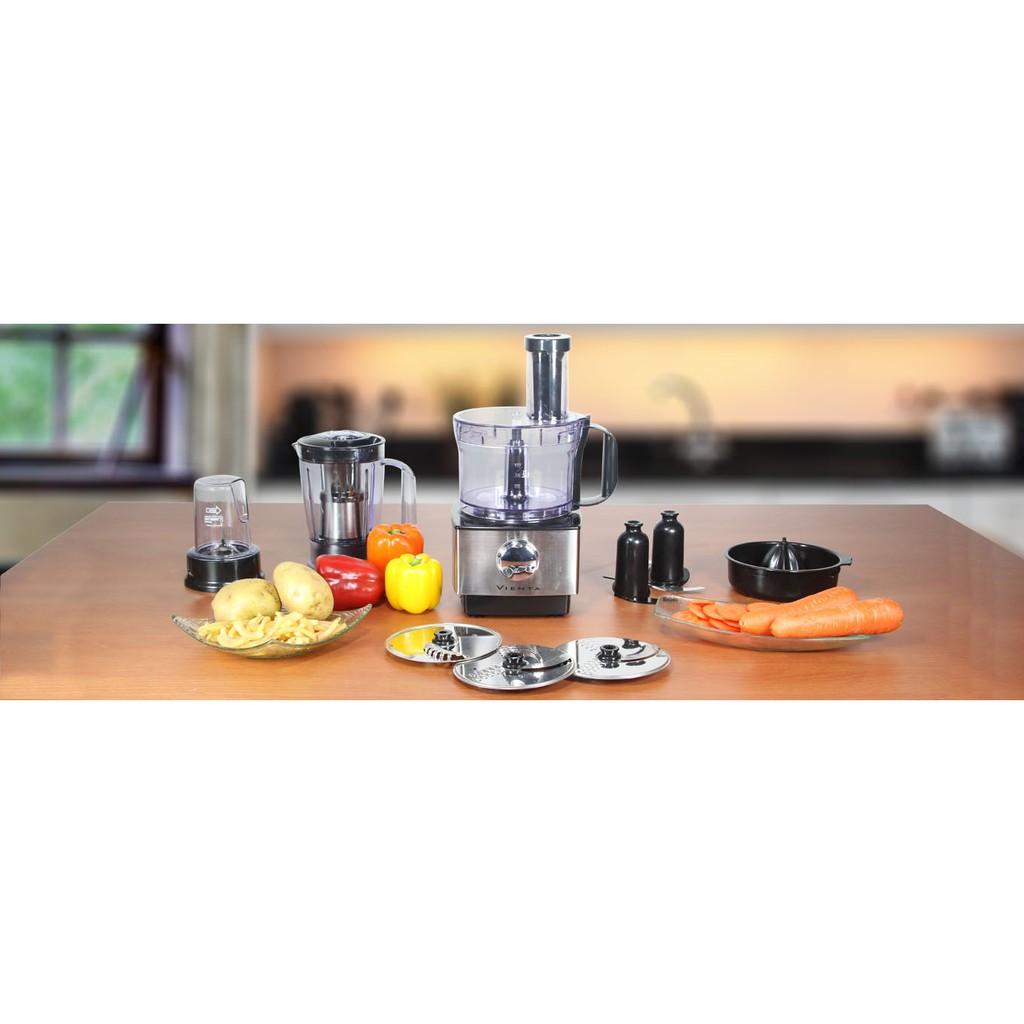 Food Processor 11 In 1 Vienta Blue Gas Multifungsi Potong Iris Aduk Blender Shopee Indonesia