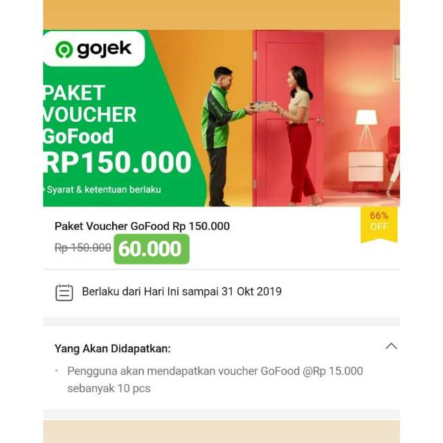 Promo Voucher Go Food Shopee Indonesia