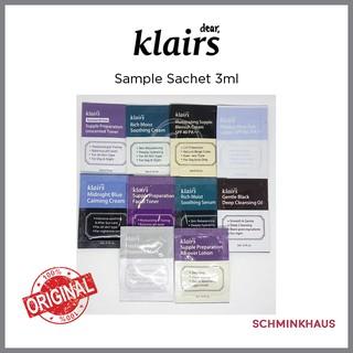 [SC] KLAIRS Sample Sachet 3ml (1ea) (EXP 2021.05) thumbnail