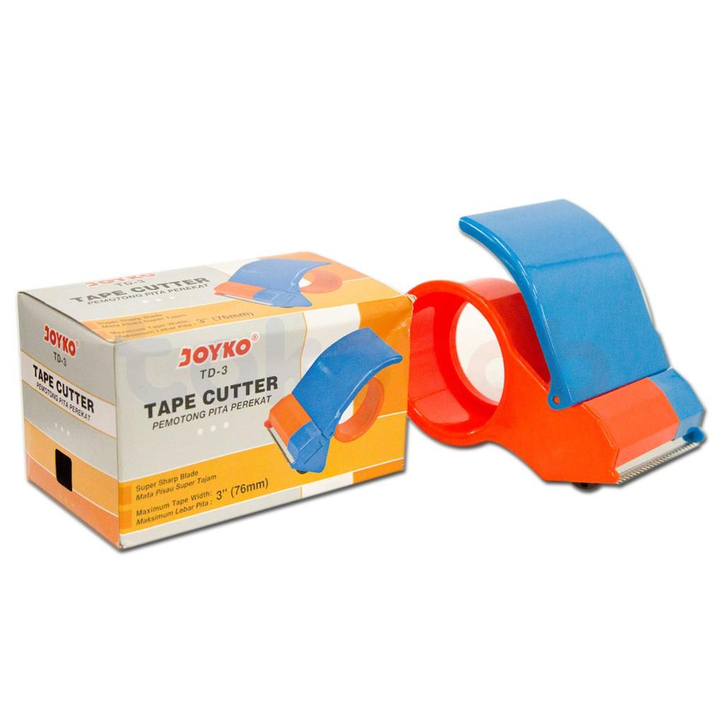 Dispenser Lakban Plastik Lion Shopee Indonesia Dispensertape Tape Cutter Joyco Td 102