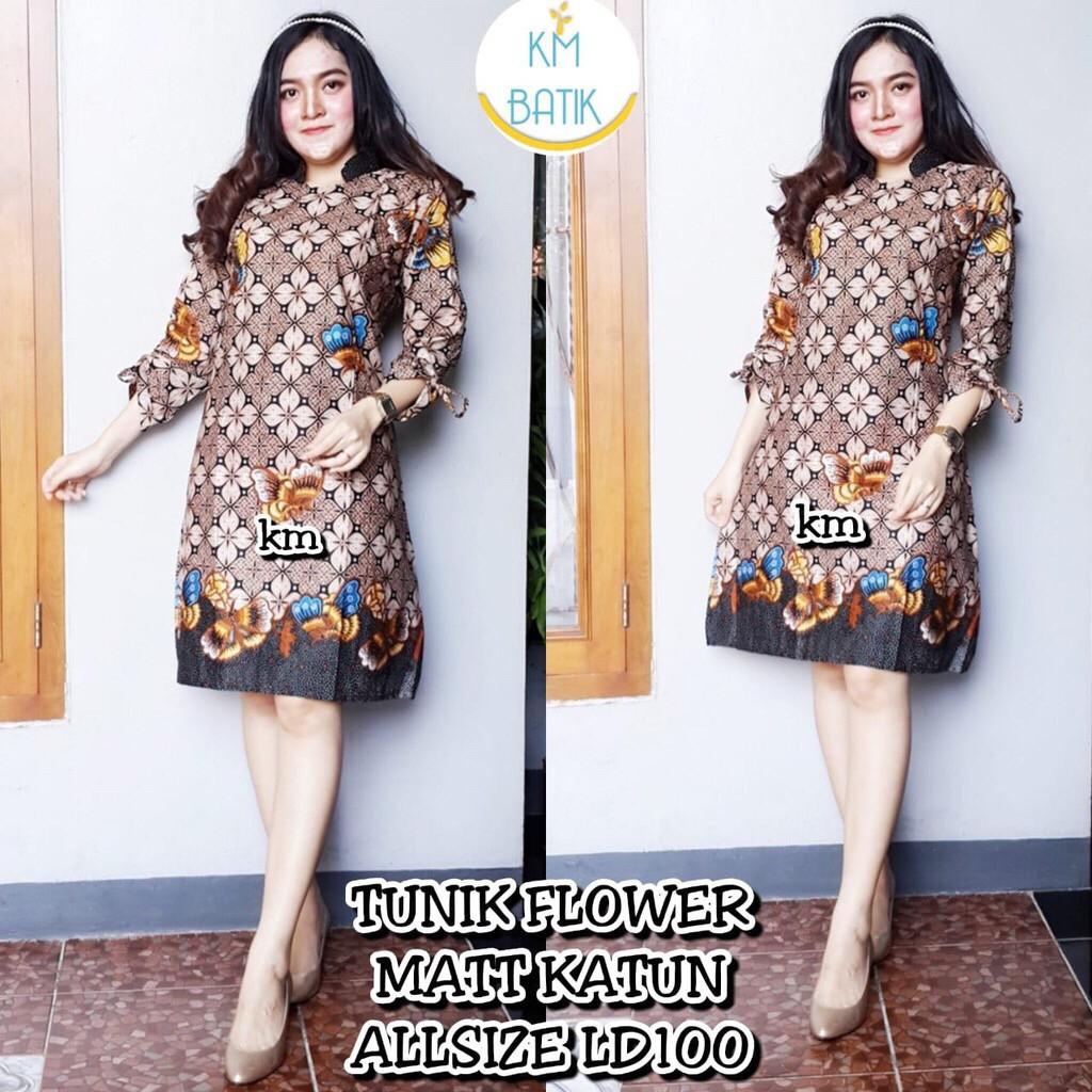Dress cleo batik 0be091e757