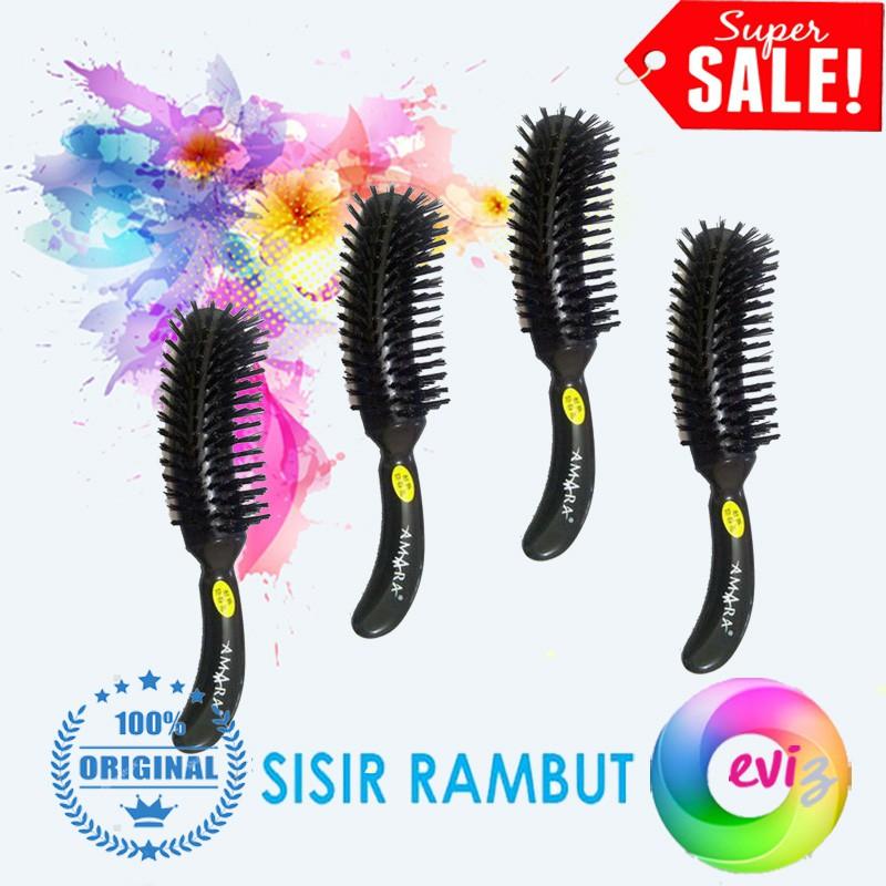 Sisir Ion V Salon Beauty   Pelurus Rambut Alami   Clip On Comb Ionic Hair  Design Straightener  9c072d818e