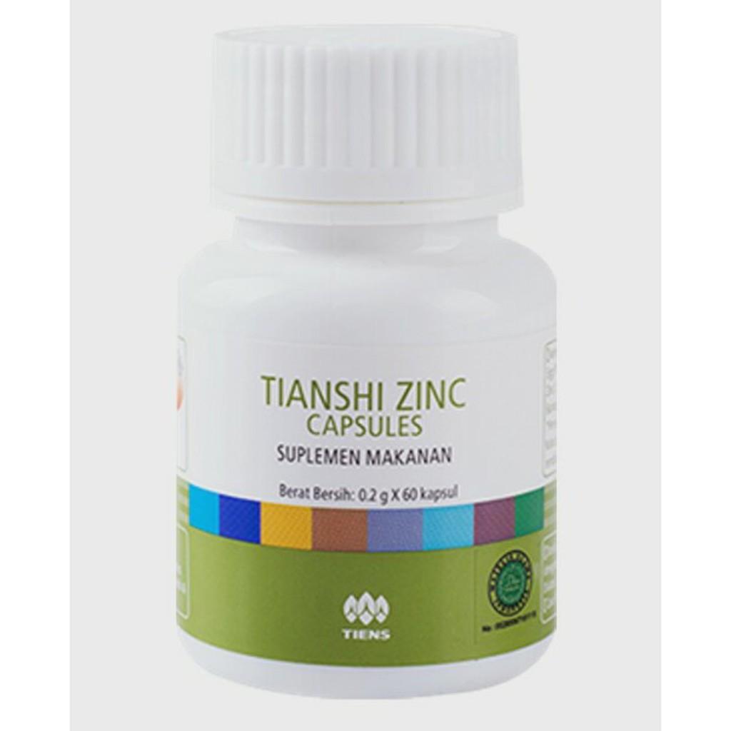 Asli Zinc Tiens Compelete Shopee Indonesia Galaxs Herbal Bpom
