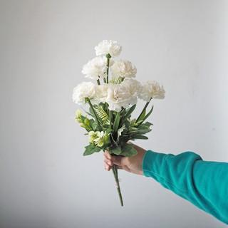 bunga carnation warna pastel / artificial carnation flower