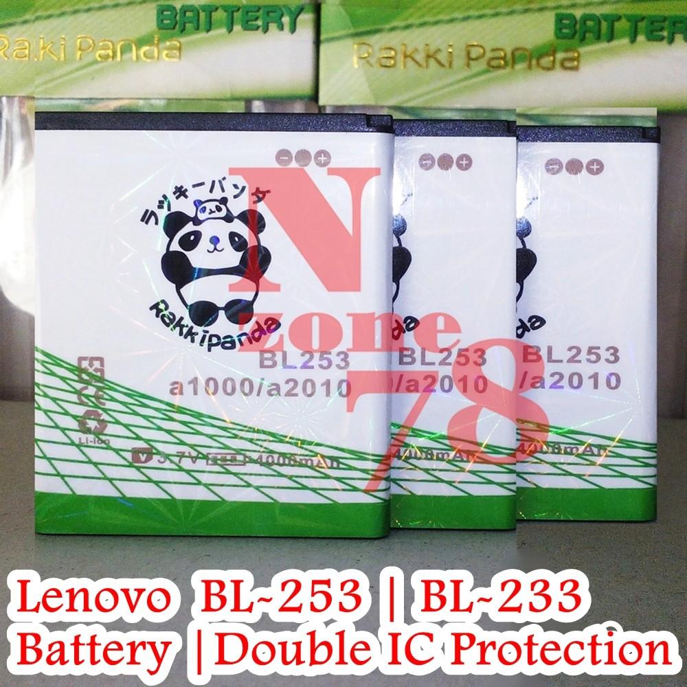 Baterai Lenovo K920 A1000 A3600 A3800 A2010 BL233 BL253 Double IC Protection | Shopee Indonesia