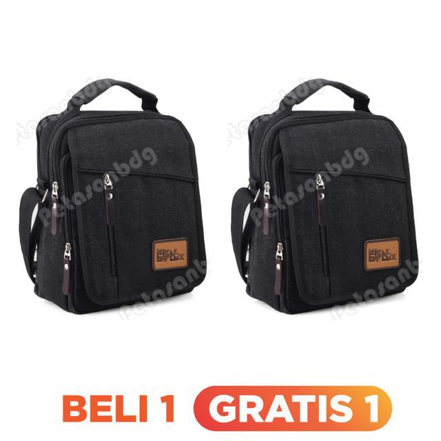Gress Emboss Backpack Battalion BT7 - Black + FREE Rompi Motor Pria Random Model | Shopee Indonesia