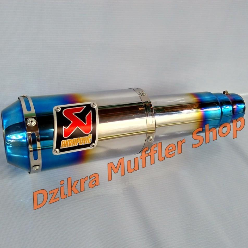 Knalpot R9 Mugello Stainless Steel For Kawasaki Ninja 150 R Rr Full System New Klx All Type Ss Shopee Indonesia