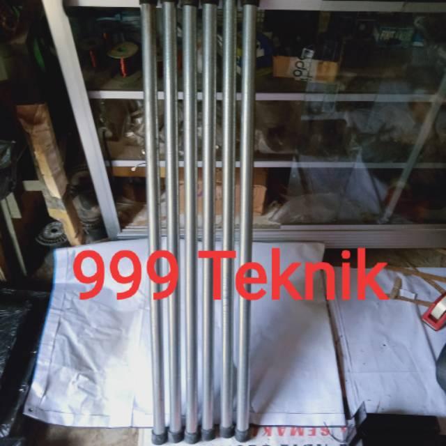 Pipa Besi Galvanis Diameter 1 Inch Panjang 1 Meter Shopee Indonesia