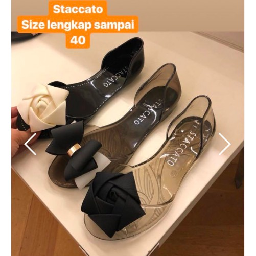 9b386108b128 Staccato jelly shoes