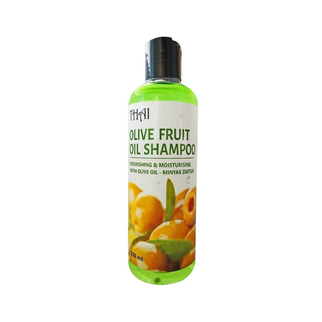 ❤ BELIA ❤ THAI Shampoo | Olive Oil Shampoo | Aloe vera Shampoo (✔BPOM) 250ml-THAI ShampooOliveOil
