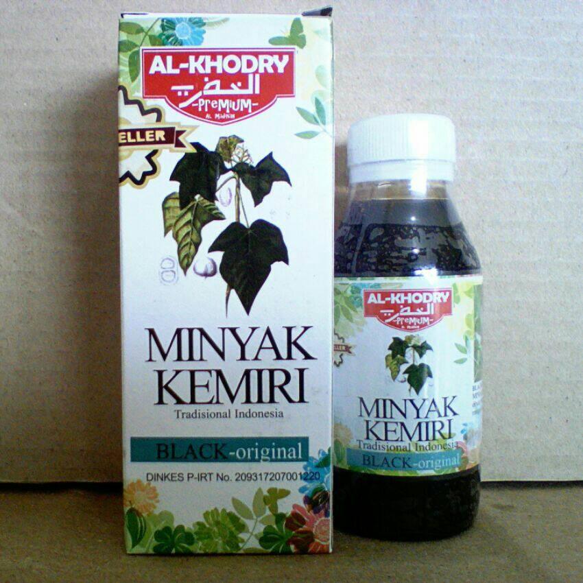 Minyak Kemiri Premium Al-Qodry | Penumbuh Rambut | Penghitam Rambut | Shopee Indonesia