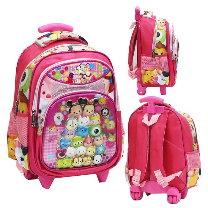 New Travel Bag Anak DUA Kantung Winnie The Pooh Bahan Sponge Tahan Air | Shopee Indonesia