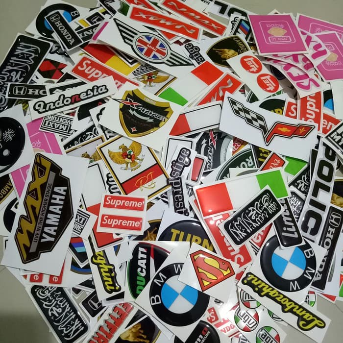 Custom Sticker Design Suka Suka Shopee Indonesia