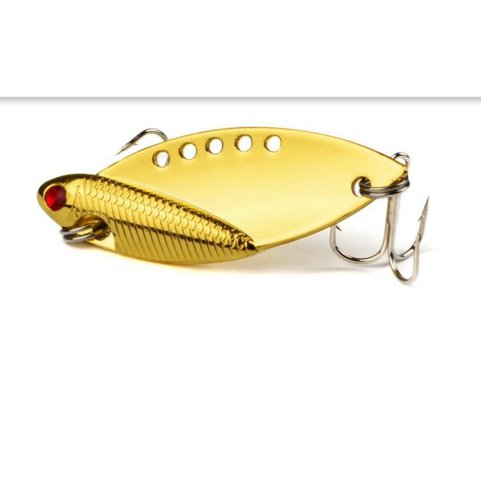 "1pc Spoon Metal Lure Fishing Lure 5cm-2/""//9.4g-0.33oz Top Bass Fishing Tackle"