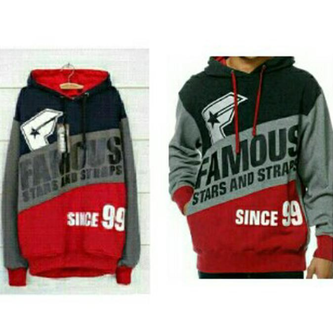 Special Promo Sweater Famous 3D Since 99 ( Navy Hitam)  0501caf85f