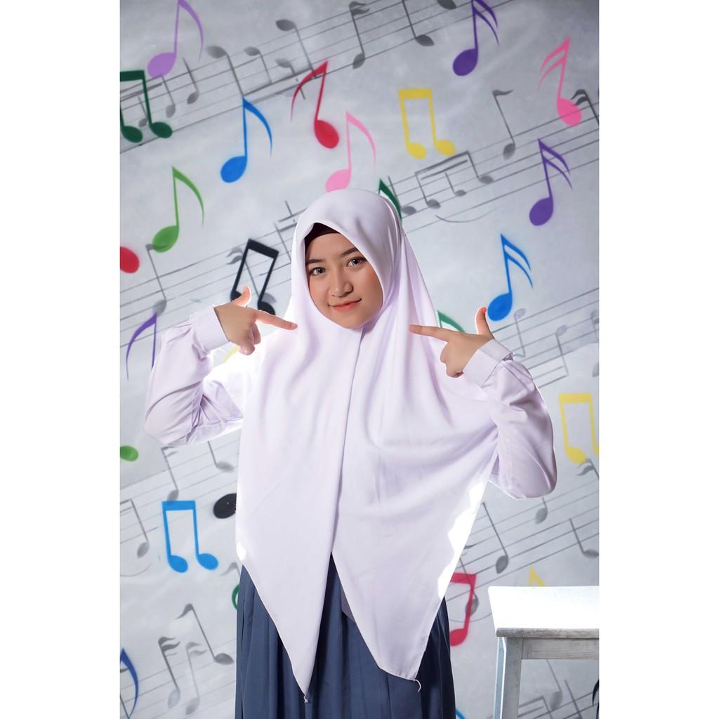 Tutorial Hijab Segi Empat Saudia Simple Tanpa Ciput Hijabfest