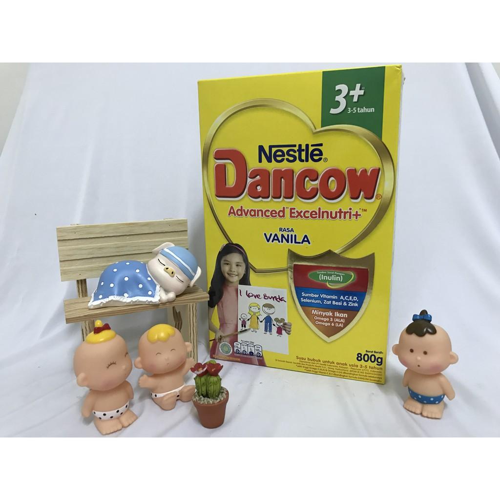 Susu Dancow 3 Madu Coklat Vanilla 800 Gr Shopee Indonesia 1plus Colkat
