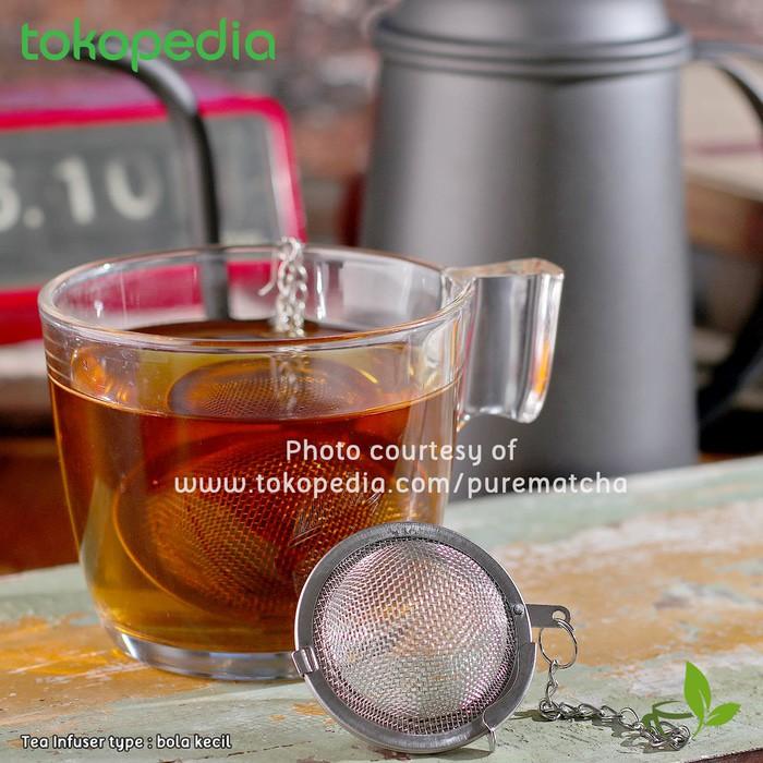 Tea Infuser Penyaring teh IKEA IDEALISK saringan teh sendok teh by WAWS | Shopee Indonesia