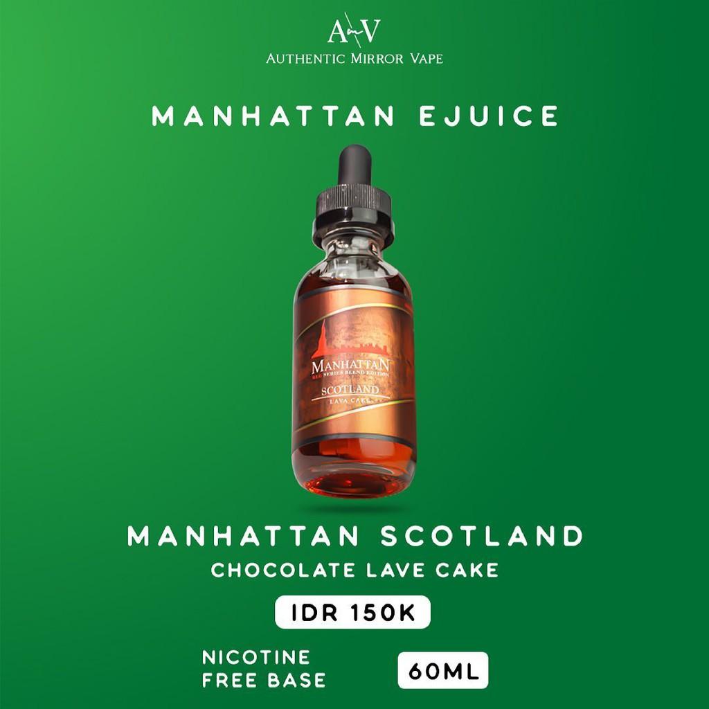 Manhattan Scotland 6MG/9MG/12MG/18MG/24MG 60ML By Manhattanliquid Autehntic - Liquid Freebase