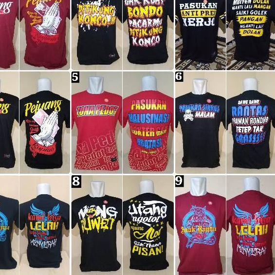 May050 Kaos Kata Kata Unik Shopee Indonesia