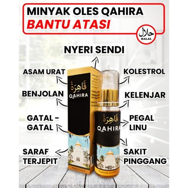 Minyak Qahira Benjolan Minyak Oles Qahira Benjolan Asli Original Minyak Gosok Qahira Minyak Balur ,,