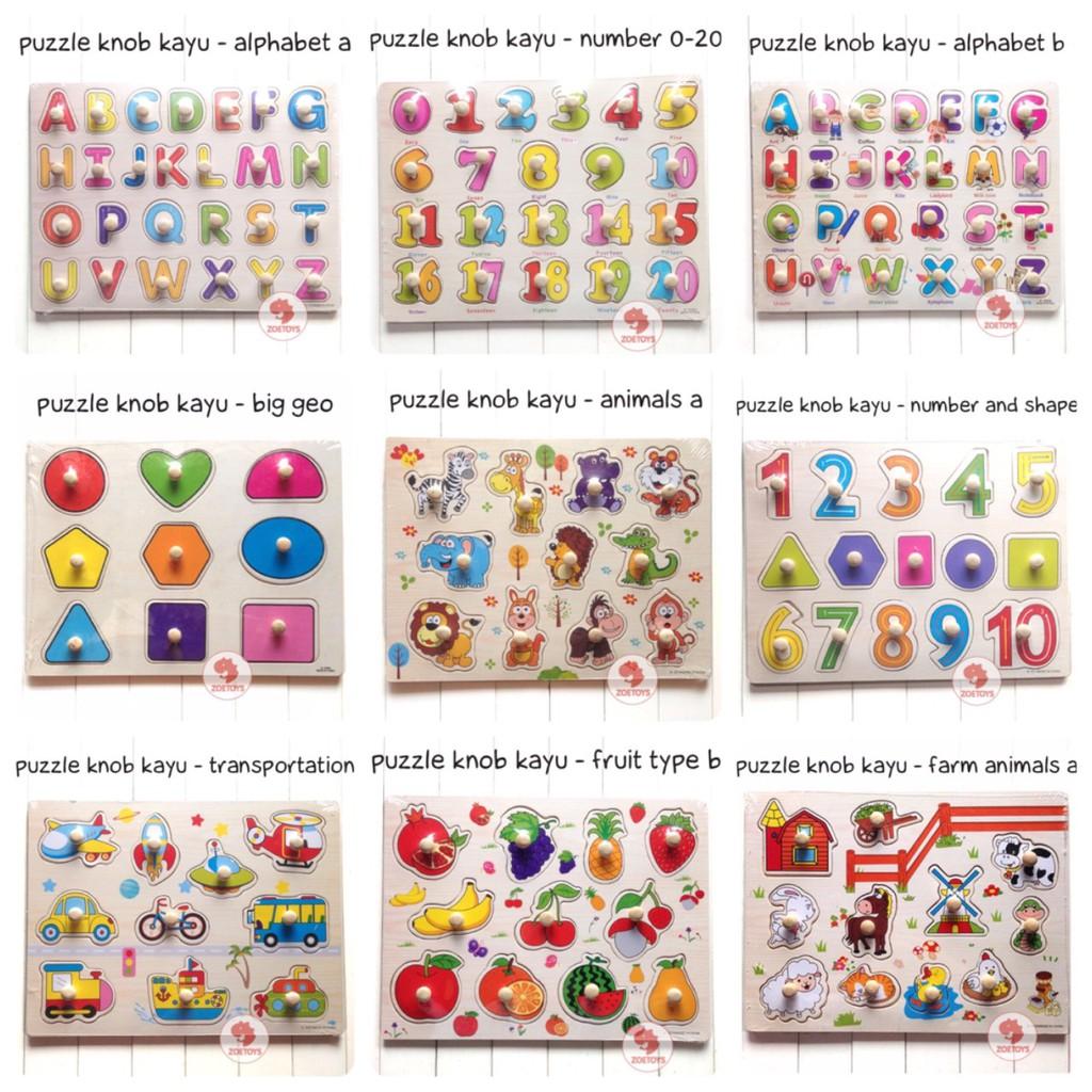 Beli Mainan Edukasi Puzzle Kayu Pin Knob Abjad Alphabet Abc Huruf Besar Harga Lebih Murah Bersama Teman Shopee Indonesia