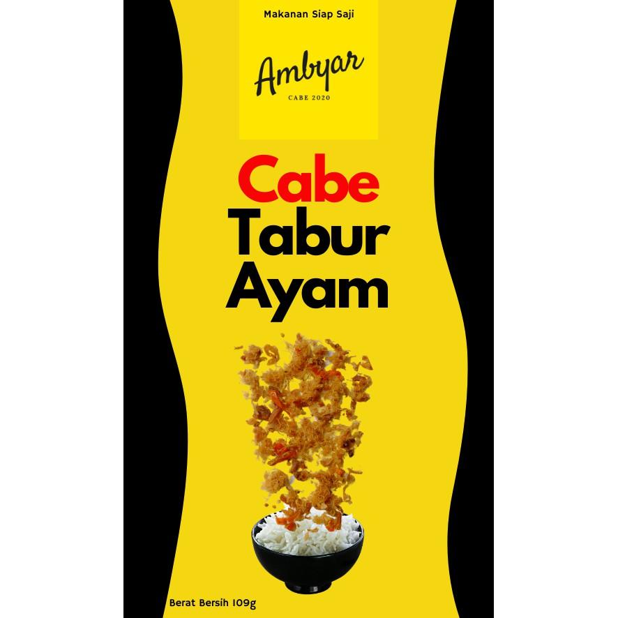 Ayam Suwir Cabe Ambyar Siap Saji Shopee Indonesia