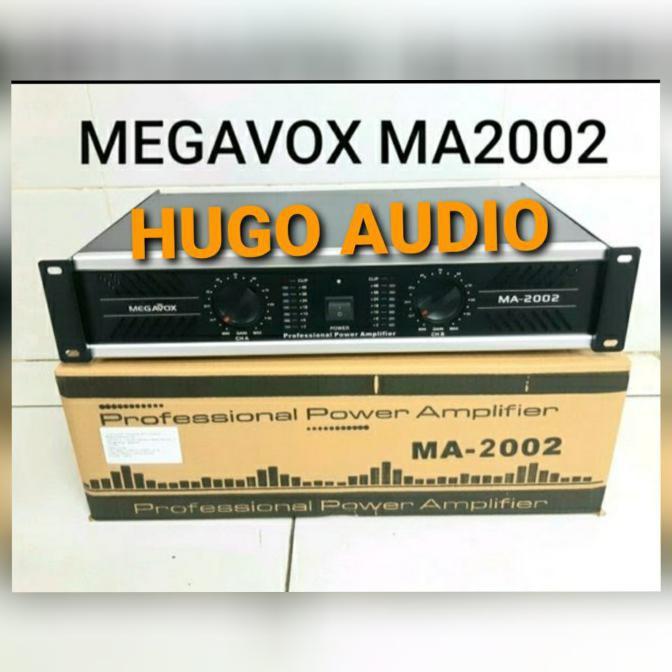 power amplifier class d> POWER AMPLIFIER MEGAVOX MA 2002