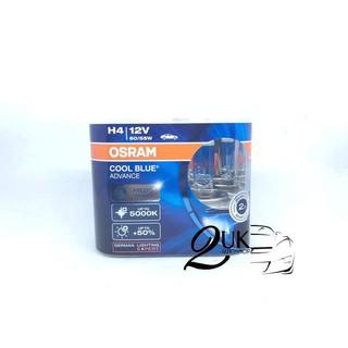 Lampu Bohlam Mobil Osram Coolblue Cool Blue Advance Cba H4 Shopee Indonesia