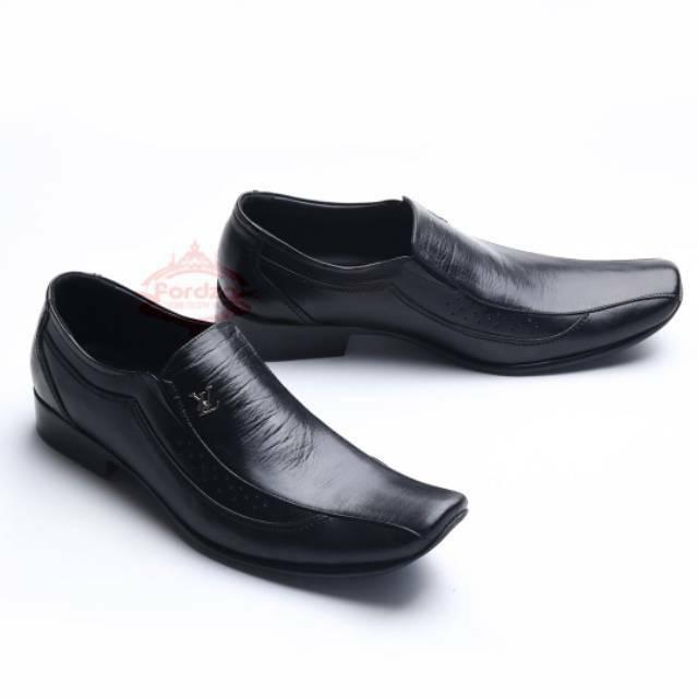 Sepatu Pria Pantofel Semi Formal, Sepatu Casual Kerja Santai KULIT 107HT MURAH | Shopee Indonesia