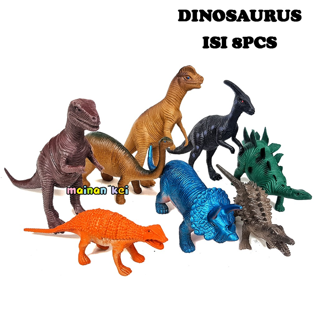 Mainan Anak Mainan Dinosaurus Karet Murah Mainan Anak Laki Figure Dino Karet Shopee Indonesia