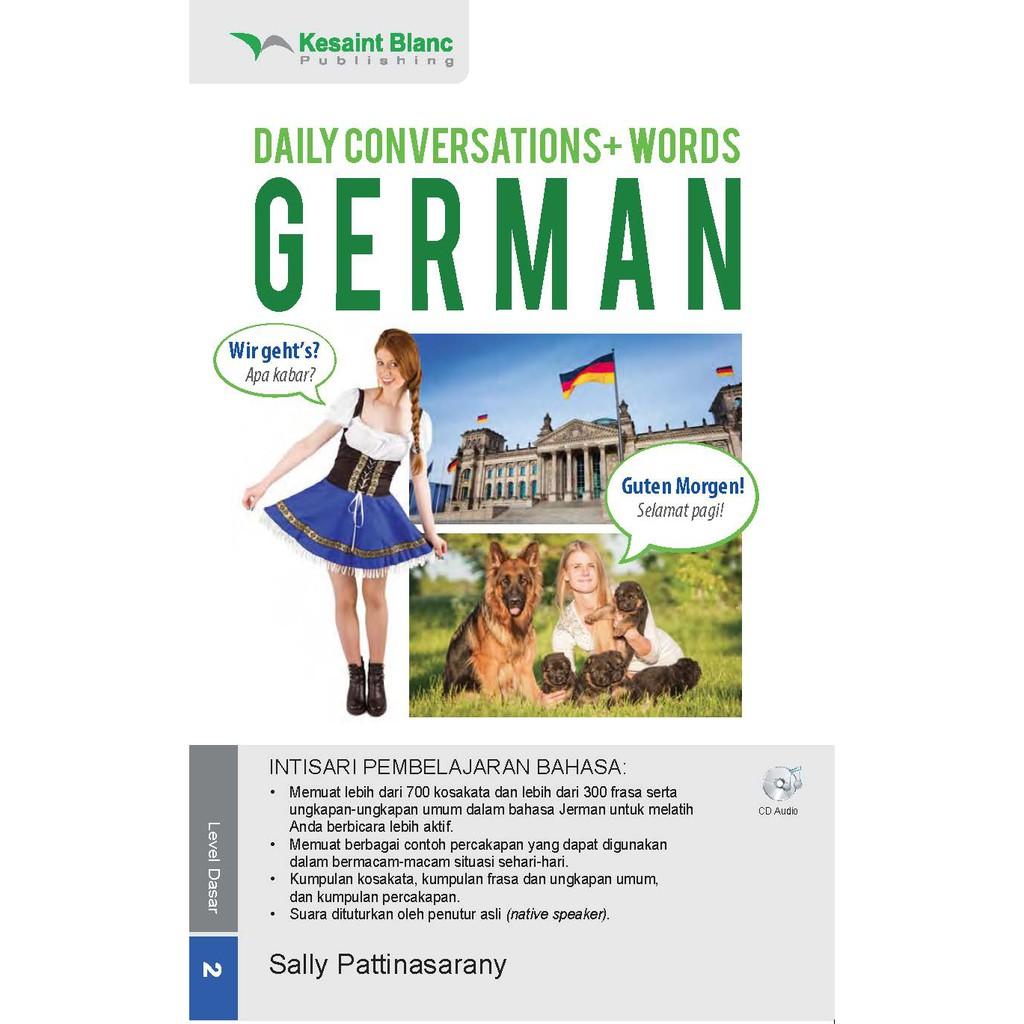 Bahasa Jerman Sehari-Hari + CD Audio | Shopee Indonesia -. Source · Kesaint Blanc ...