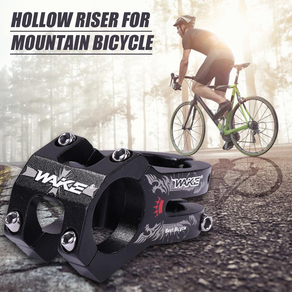31.8mm Aluminum Alloy Bike Hollow Riser Durable Hollowed Cycling Short CNC