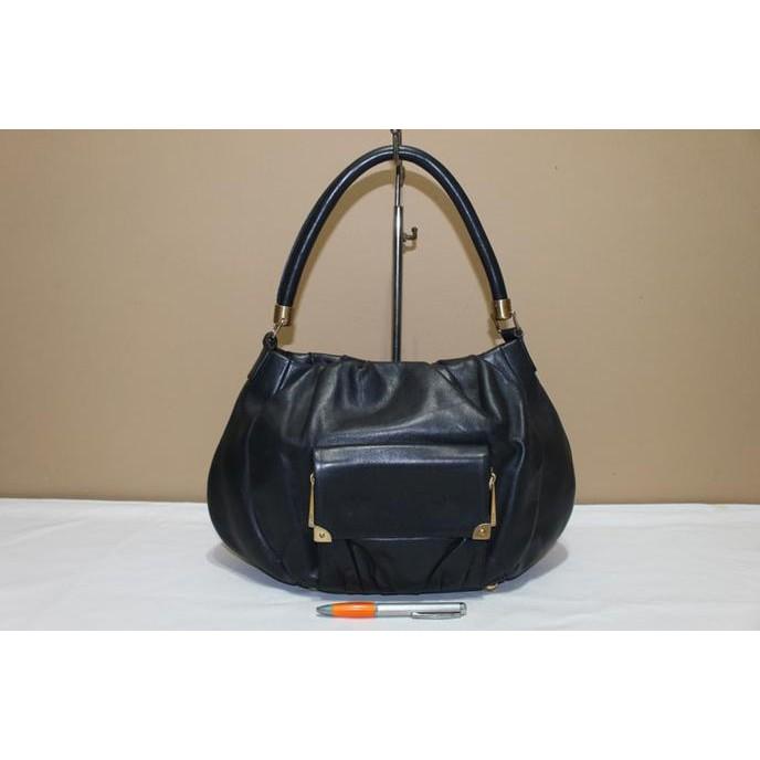 Shoulder Bag Tas branded RAOUL Black hobo second bekas original asli ... d37216ff9d