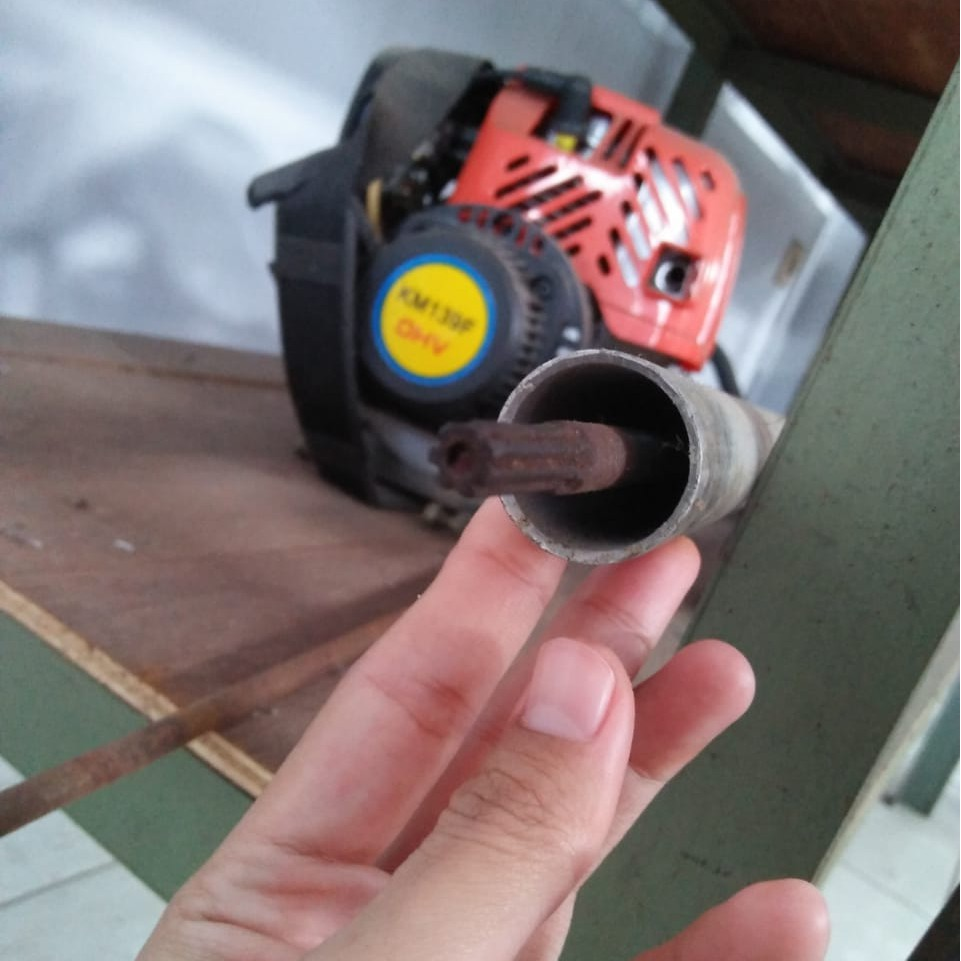Mesin Potong Rumput 2 Tak Paket 3 In 1 Tipe 1 Potong Rumput Potong Padi Penyiang Gulma Shopee Indonesia