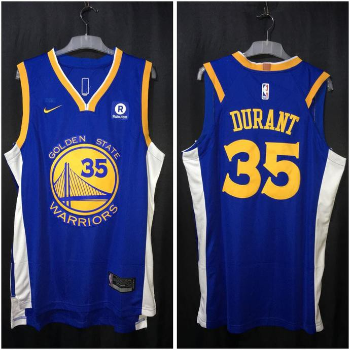 46f5934ae JERSEY BASKET NBA GOLDEN STATE WARRIORS THE BAY  35 KEVIN DURANT KUNING