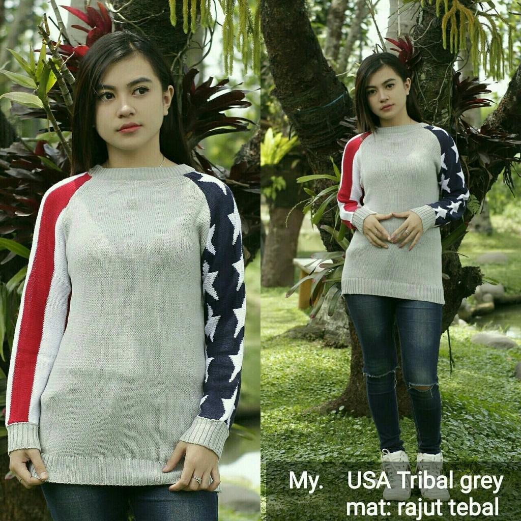 Baju Sweater Rajut Wanita Cardigan Fashion Rawis Marun Raida Knit Atasan  Pakaian Premium Shopee Indonesia
